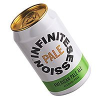 A can of Infinite American Pale Ale alcohol free beer