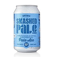 A can of Smashed Pale Ale alcohol free beer
